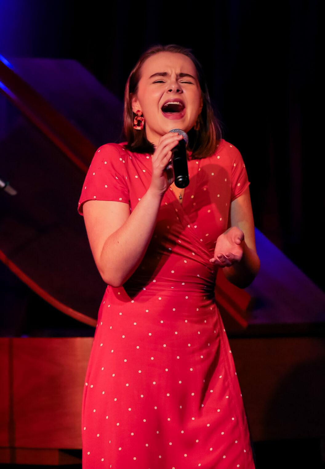 Ruby Rakos Performing