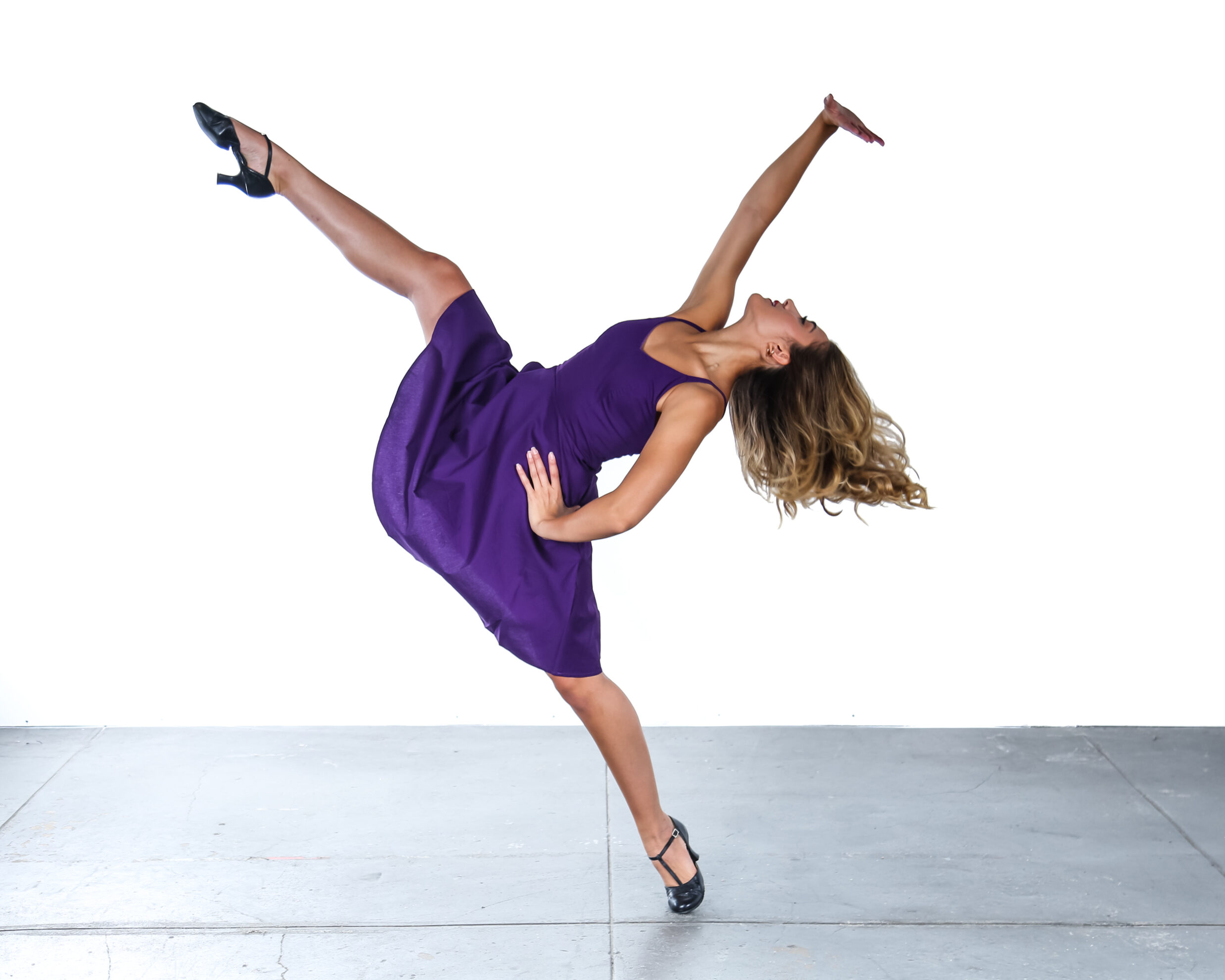 Sarah Botero WSS Purple Dress